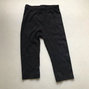 5/$25 CHILDREN'S PLACE Black Leggings Cotton